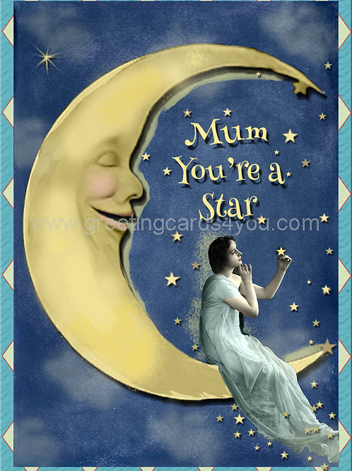 5720190005 - Mum you're a Star