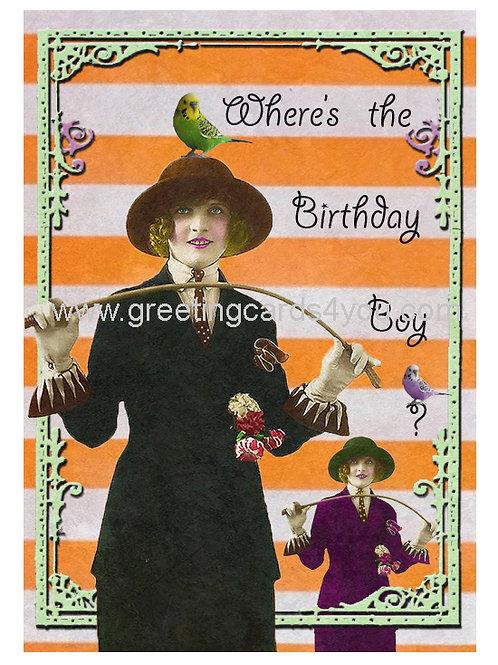 5720150041 - Where's the Birthday Boy?