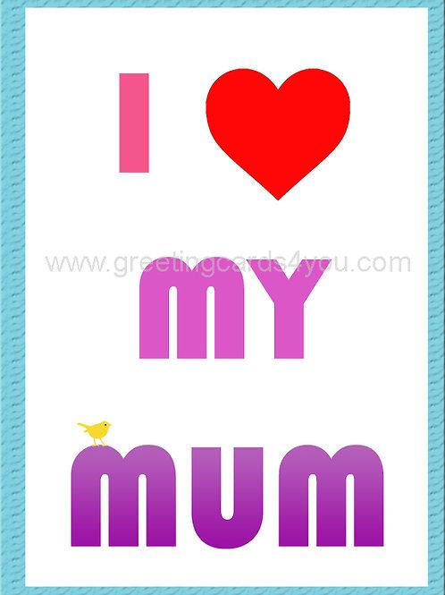 5720210016 - I Heart My Mum