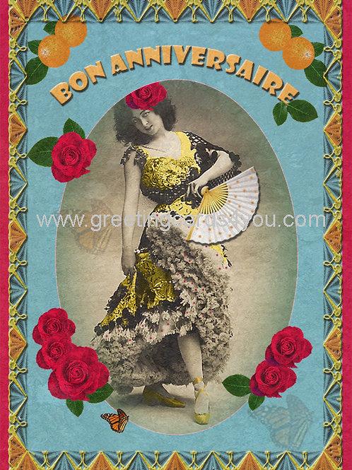 5720140351FR - Bon anniversaire (fiesta time)