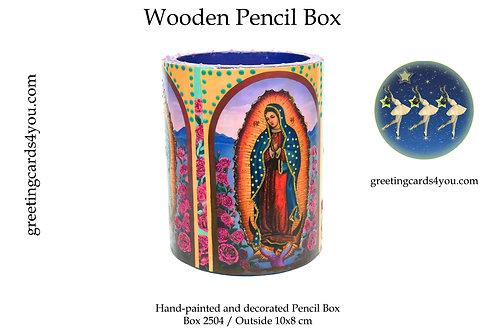 Wooden Pencil Box - 2504