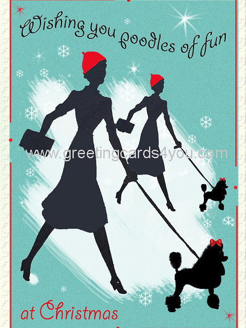 5720150050x - Poodles of fun at Christmas