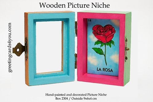 Wooden Picture Niche box 2304