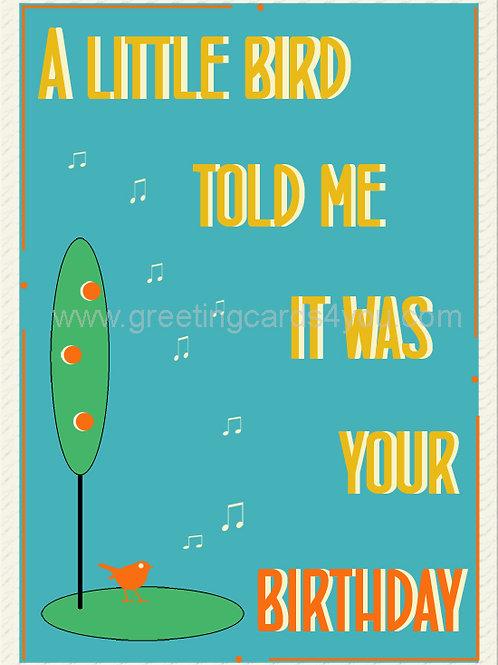 5720200029 - A LITTLE BIRD TOLD ME...