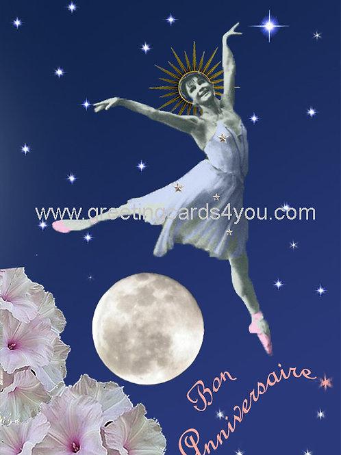 5720130100FR - Bon Anniversaire (over the moon)