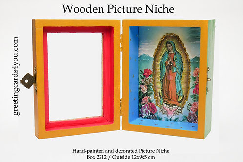 Wooden Picture Niche box 2212