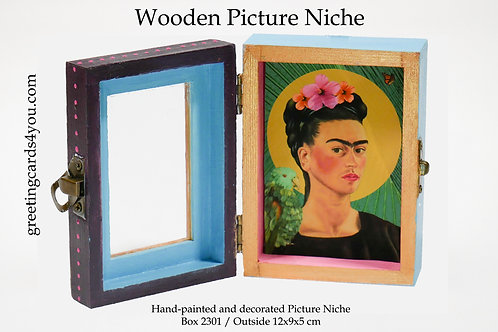 Wooden Picture Niche box 2301