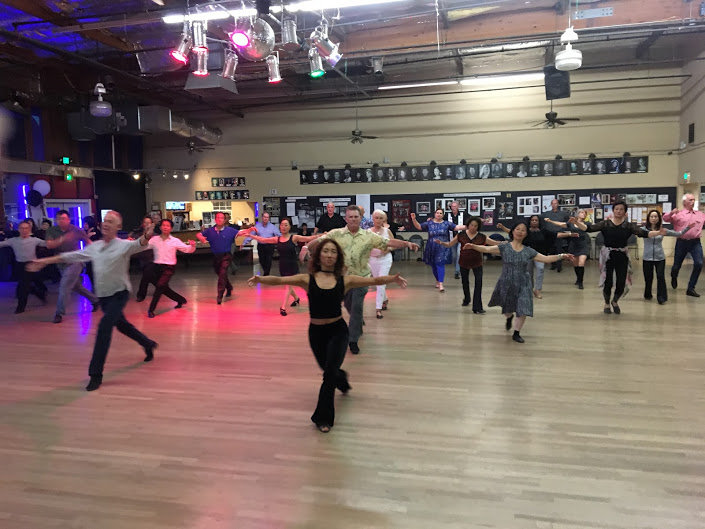 Dance Fit & Ballroom Lesson on Zoom live