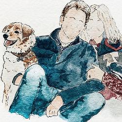 Custom Watercolor Illustration