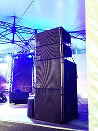 d&b audio technik V8 Vサブ D-12 レンタル