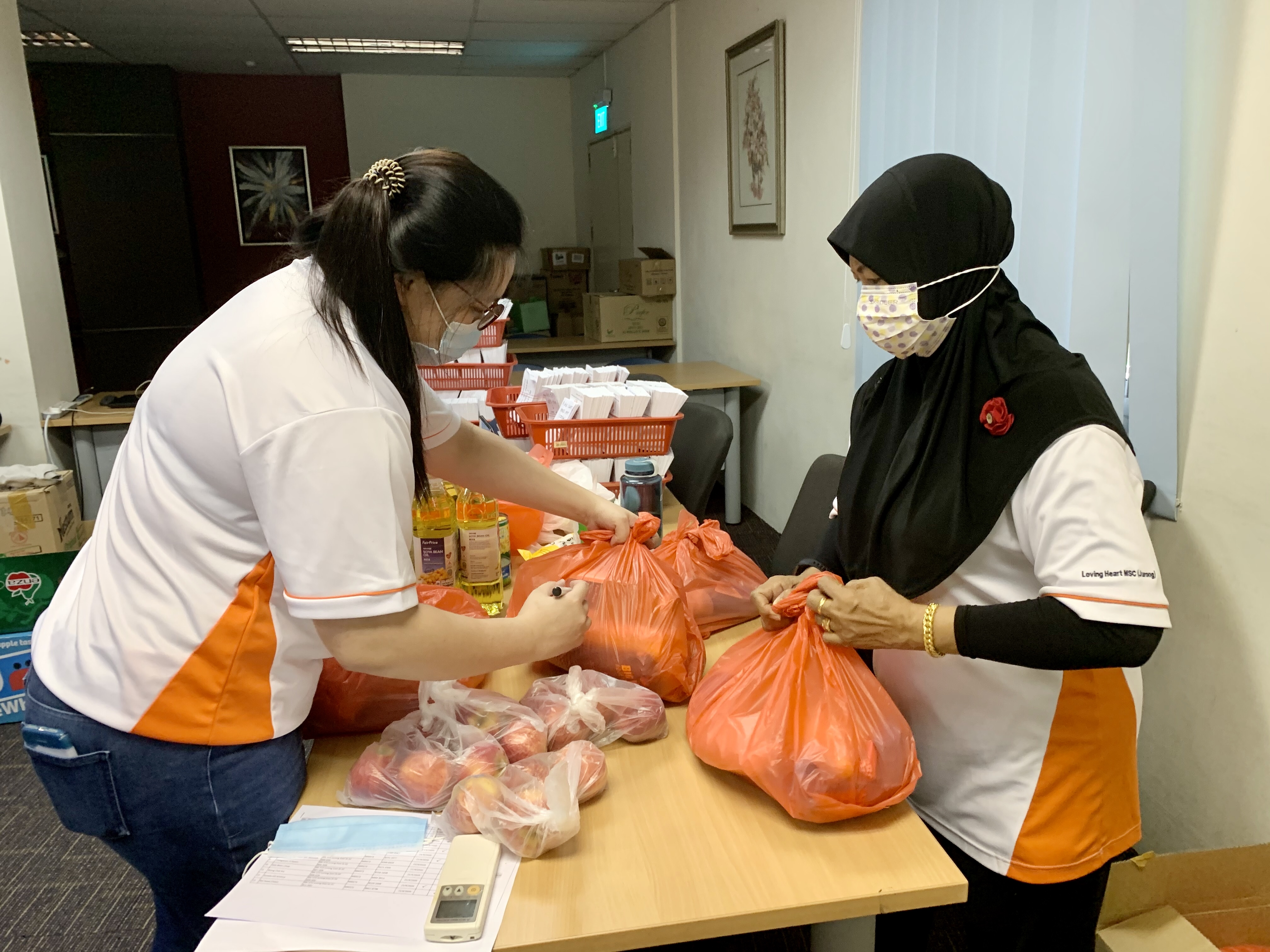 Packing of Food Gift