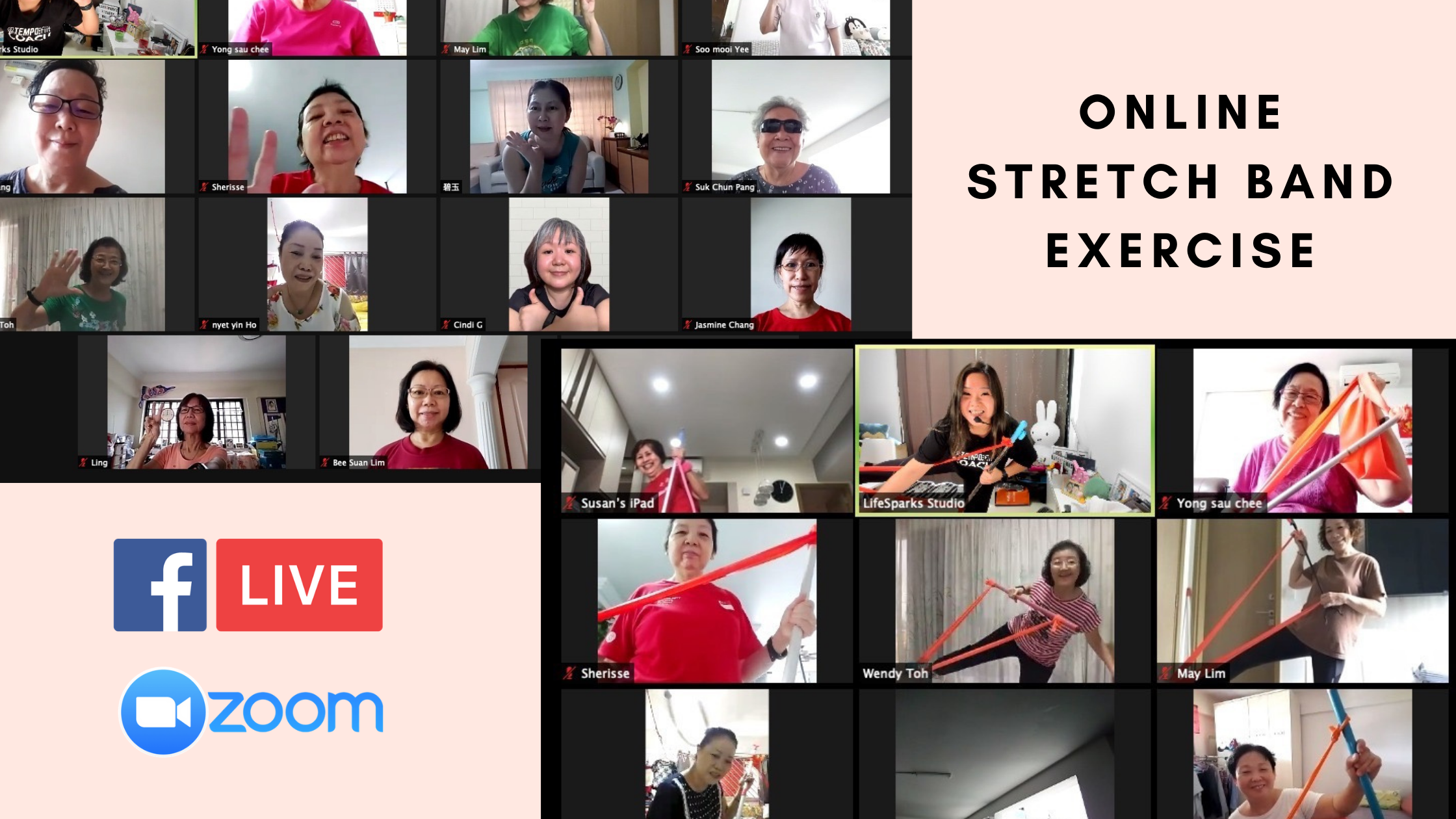 Online Stretch Band Exercise