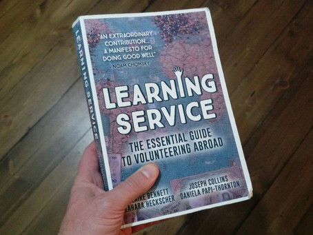 Learning Service: The Essential Guide to Volunteering Abroad - A Book Review
