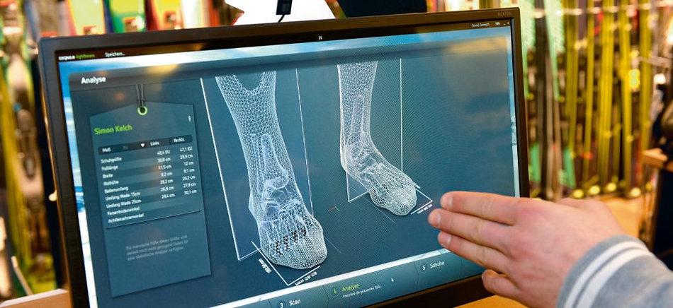 feetbox scaner 3D sidas
