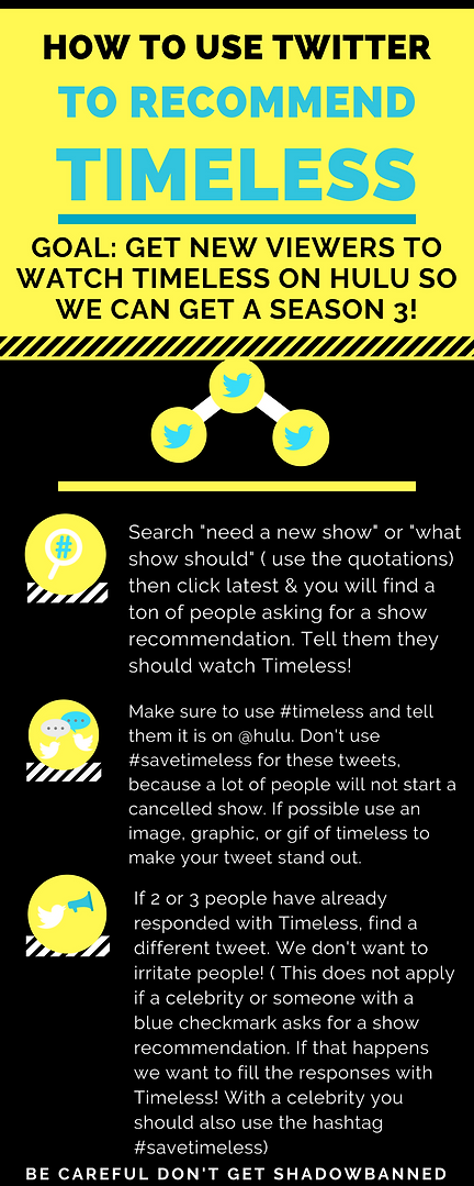 how to use twitter to recommend timeless