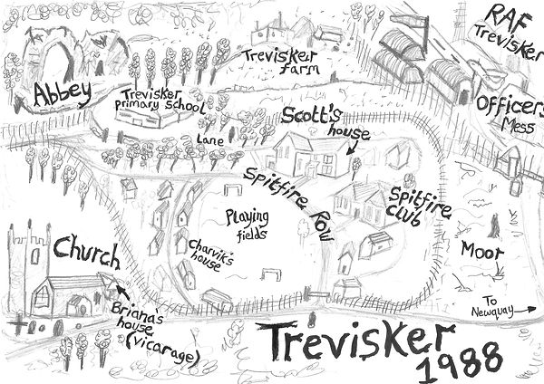 Map of Trevisker from The Spectres of Spitfire Row by Chris Soul.jpg