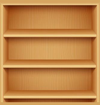 empty-wooden-bookshelves-vector-15739257