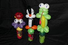 balloon candy cups