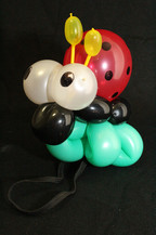 ladybug bracelet balloon twisting
