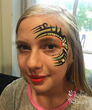 tribal eye