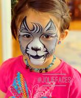 wolf face paint