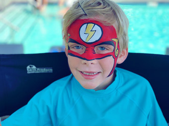 flash face painting