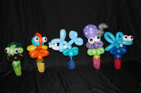 Balloons candy cups