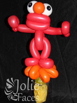 Mo balloon candy cup