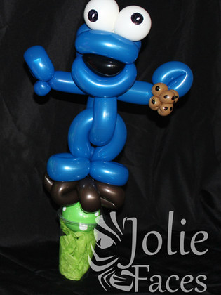 cookie guys balloon candy cup