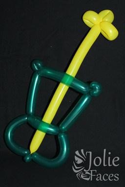 guitar balloon