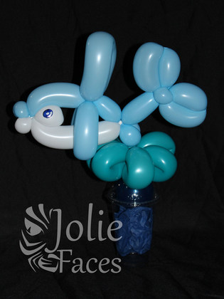 dolphin balloon twisting