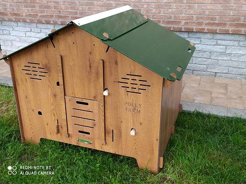 Poulailler HPL - Polly Farm (5 à 6 poules)