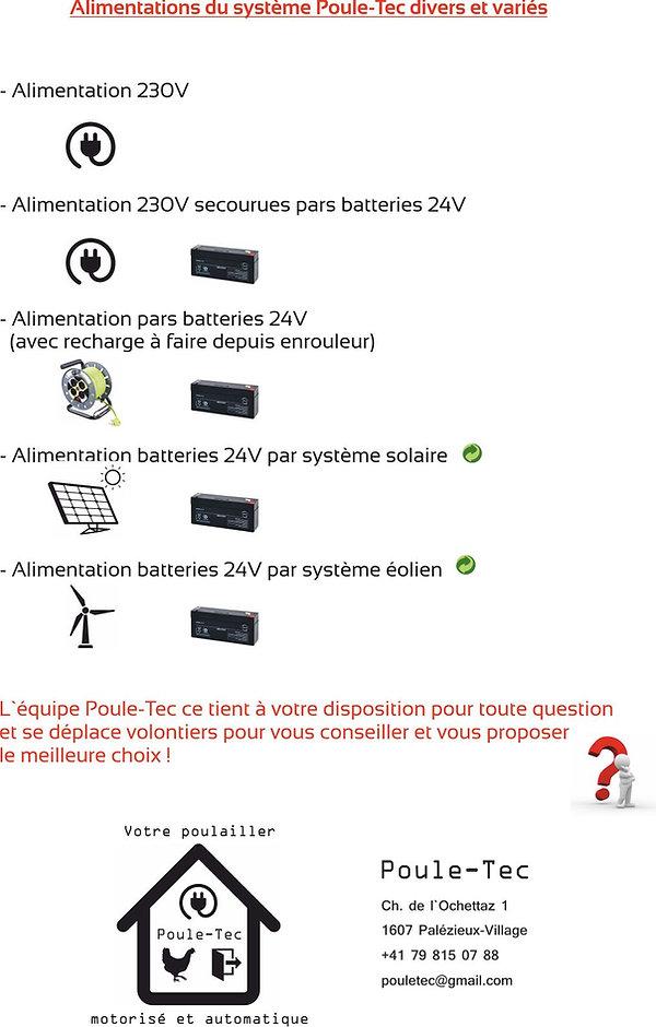 Solution Poule-Tec