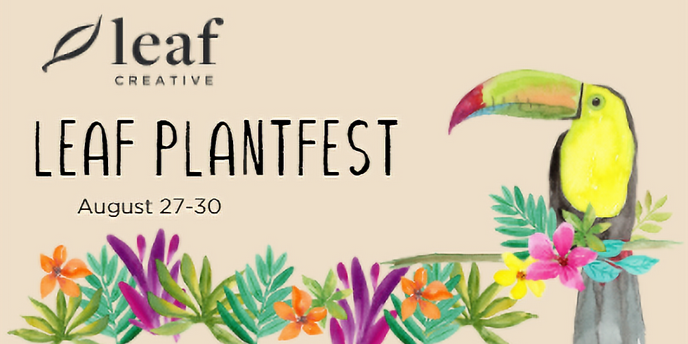 Leaf Plantfest