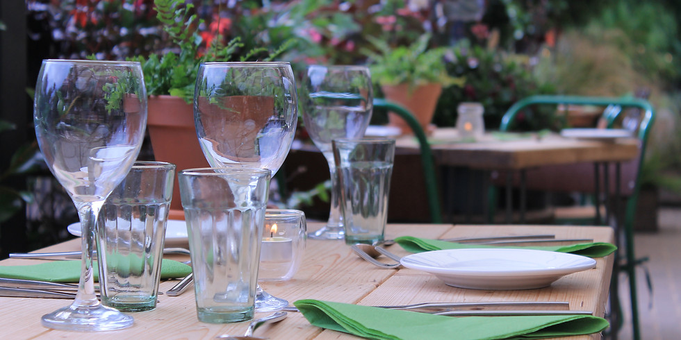 Evening Meal at the Fernery