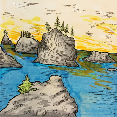 Rocks A Float