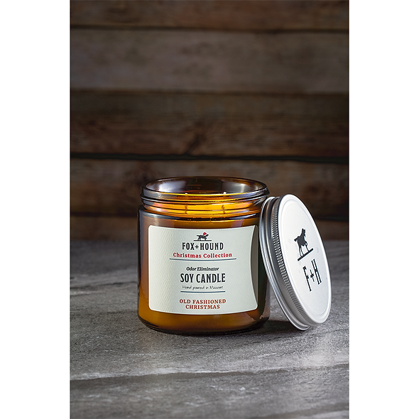 Odor Eliminator Soy Candle - Old Fashioned Christmas