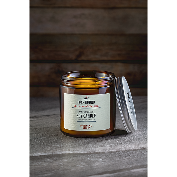 Odor Eliminator Soy Candle - Morning Snow