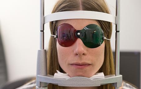 Hess-Test, Schielsprechstunde, Vista Alpina Augenklinik