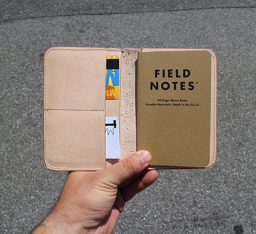 Natural veg Field notes / Passport case
