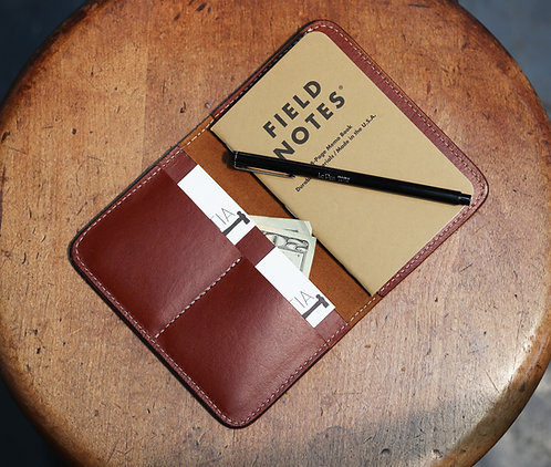 Leather Field Notes/ Passport Case - British Tan