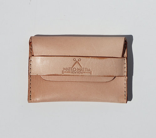 Flap Wallet - Natural Veg