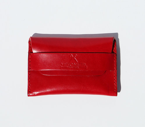 Flap Wallet - Red