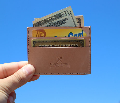 Veg Tan Card Wallet