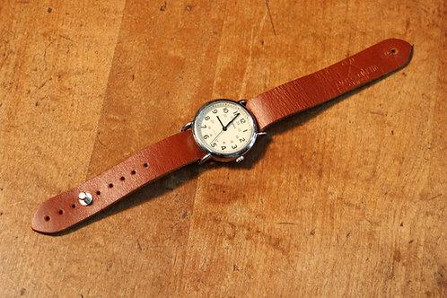 Leather Timex Weekender Watch Strap - British Tan