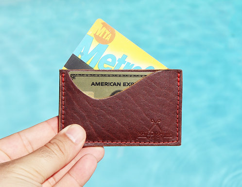 Mini Leather Card Wallet