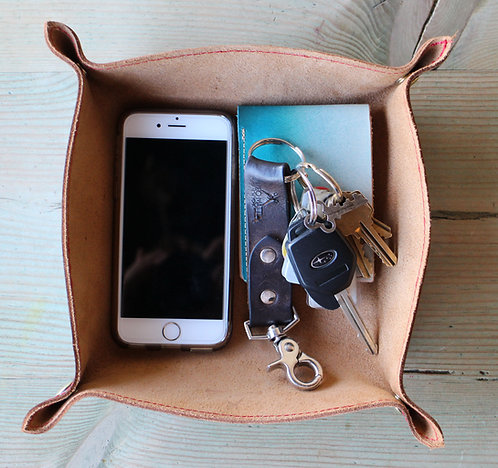 Leather Travel Tray