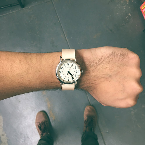Veg Tan Timex weekender watch strap