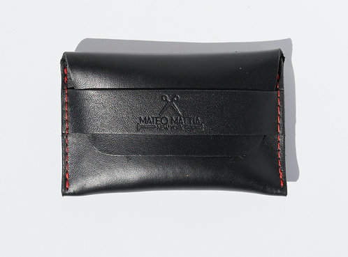 Flap Wallet - Black