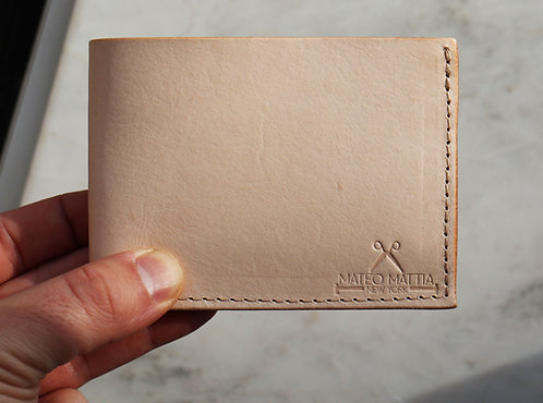 Mens Leather Vegtan Wallet